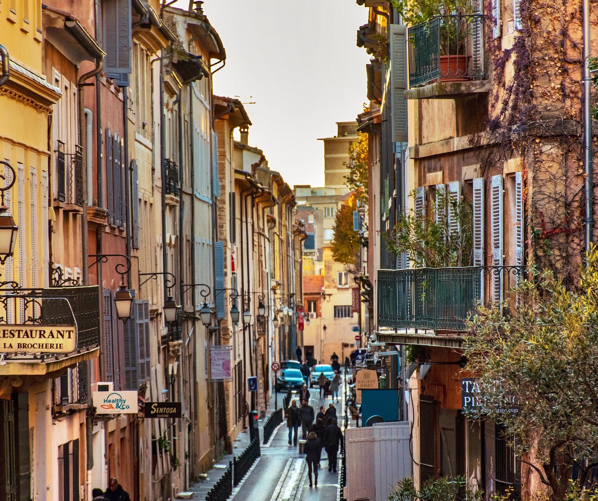 Aix en Provence Südfrankreich